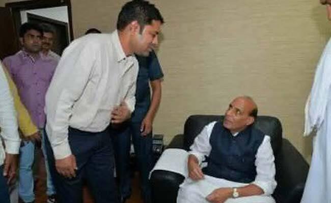 राजनाथ सिंह के पास यही वकील है जिसे बीएस बस्सी अज्ञात कह रहे हैं