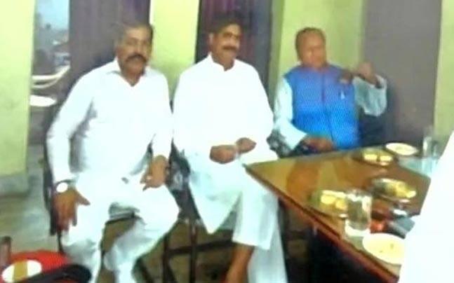 शहाबुद्दीन के साथ जेल में मंत्रि अब्दुल गफूर
