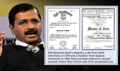 kejriwal-modi-fake-degree