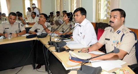 डीएम एसपी की मीटिंग (सांकेतिक फोटो)- आफ्ताब