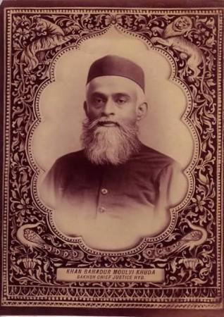 खुदा बख्श खान 2 अगस्त 1842 को पैदा हुए थे