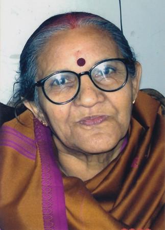 मृदुला पांडेय 74 वर्ष की थीं