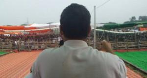 सहारनपुर खाट सभा में राहुल