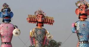 ravan-effigy