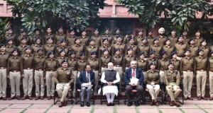 The IPS Probationers of 2015 batch, call on the Prime Minister, Shri Narendra Modi, in New Delhi on November 17, 2016.