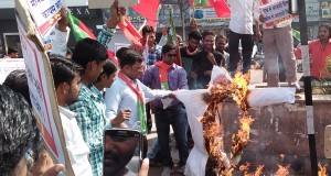 photos-Protes Demonstration against Demonetization (1)
