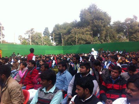 छात्र राजद के सम्मेलन में एक हजार प्रतिनिधि शामिल हुए