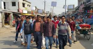 पत्रकारों का प्रदर्शन, कुशीनगर