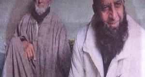 मोहम्मद हुसैन फजीली अपने पिता के साथ( फोटो हिंदुस्तान टाइम्स)