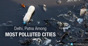 दिल्ली के बाद दूसरा सबसे प्रदूषित शहर पटना, पटना में मानक से पांच फीसदी अधिक प्रदूषण का लेवल