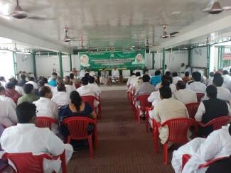 राजद प्रमुख लालू प्रसाद व तमाम विधायक की बैठक