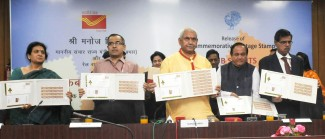 "The Minister of State for Communications (Independent Charge) and Railways, Shri Manoj Sinha releasing a Commemorative Stamp on ""Cub Scouts"", in New Delhi on March 30, 2017."