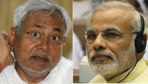 Nitish kumar Narendra Modi