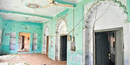 mosque attacked in jharkhand