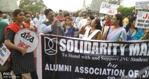 JNU Fee Hike Protest Patna
